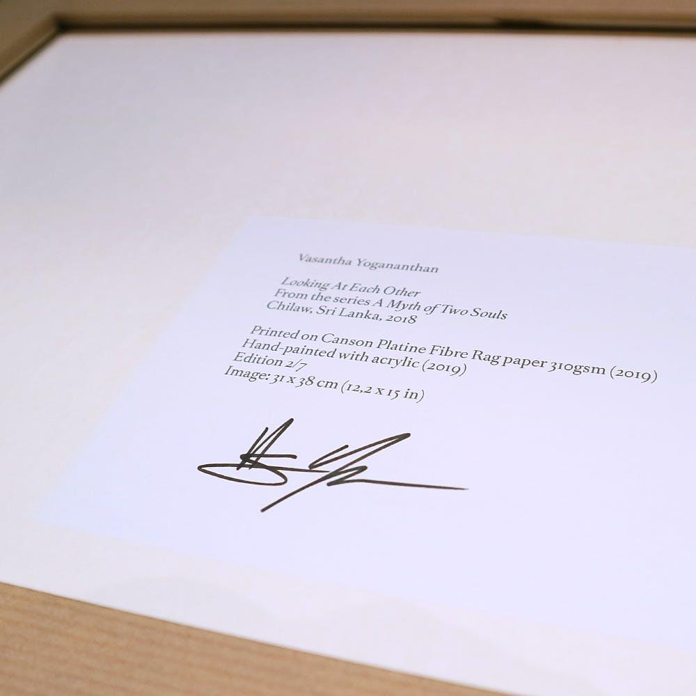 サイン見本です