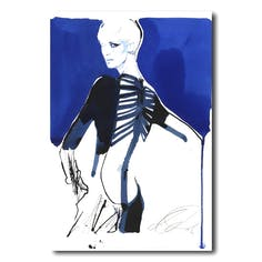 David Downton [Jean-Paul Gaultier/Es Magazine]-デイビッドダウントン額装アートプリント