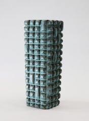 彫刻的陶器