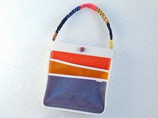 みかん網のショルダーバッグ