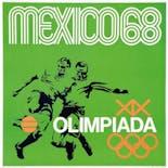 【ヴィンテージ】Olimpiada Mexico,1968 1968年メキシコ五輪 ポスター