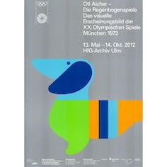 【ヴィンテージ】Die Regenbogenspiele Munchen 1972 Exhibition Ulm,2012