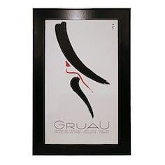 【ヴィンテージ】Gruau Center De L'Affiche ルネ・グリュオー