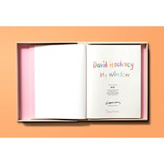 David Hockney My Window Colector's Edition デイヴィッド・ホックニー【サイン入り】