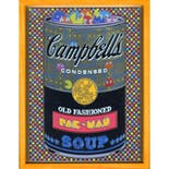 If There was impossible Campbell's Soup Cans... Old Fashioned PACMAN / miniature edition 森洋史