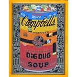 If There was impossible Campbell's Soup Cans... Old Fashioned DIGDUG / miniature edition 森洋史