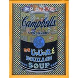 If There was impossible Campbell's Soup Cans... Ninja Jajamarukun Bouillon / miniature edition 森洋史