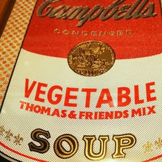 If There was impossible Campbell's Soup Cans... Vegetable Thomas & Friends Mix / miniature edition 森洋史