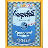 If There was impossible Campbell's Soup Cans... Consommé facebook Mix / miniature edition 森洋史