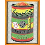 If There was impossible Campbell's Soup Cans... Ochazuke nori with Rice / miniature edition 森洋史