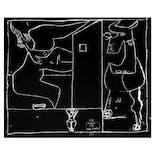 ル・コルビュジエ Le Corbusier 版画《小さな告白 No.1 「一角 獣が通り過ぎ…」》