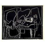 ル・コルビュジエ Le Corbusier 版画《小さな告白 No.3 「横たわって…」》