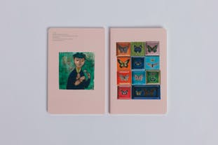 ルート・ブリュック展 ノート《蝶たち》