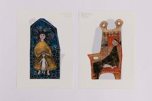ルート・ブリュック展|クリアファイル《母子》