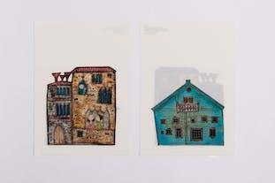 ルート・ブリュック展|クリアファイル《ヴェネチアの宮殿》