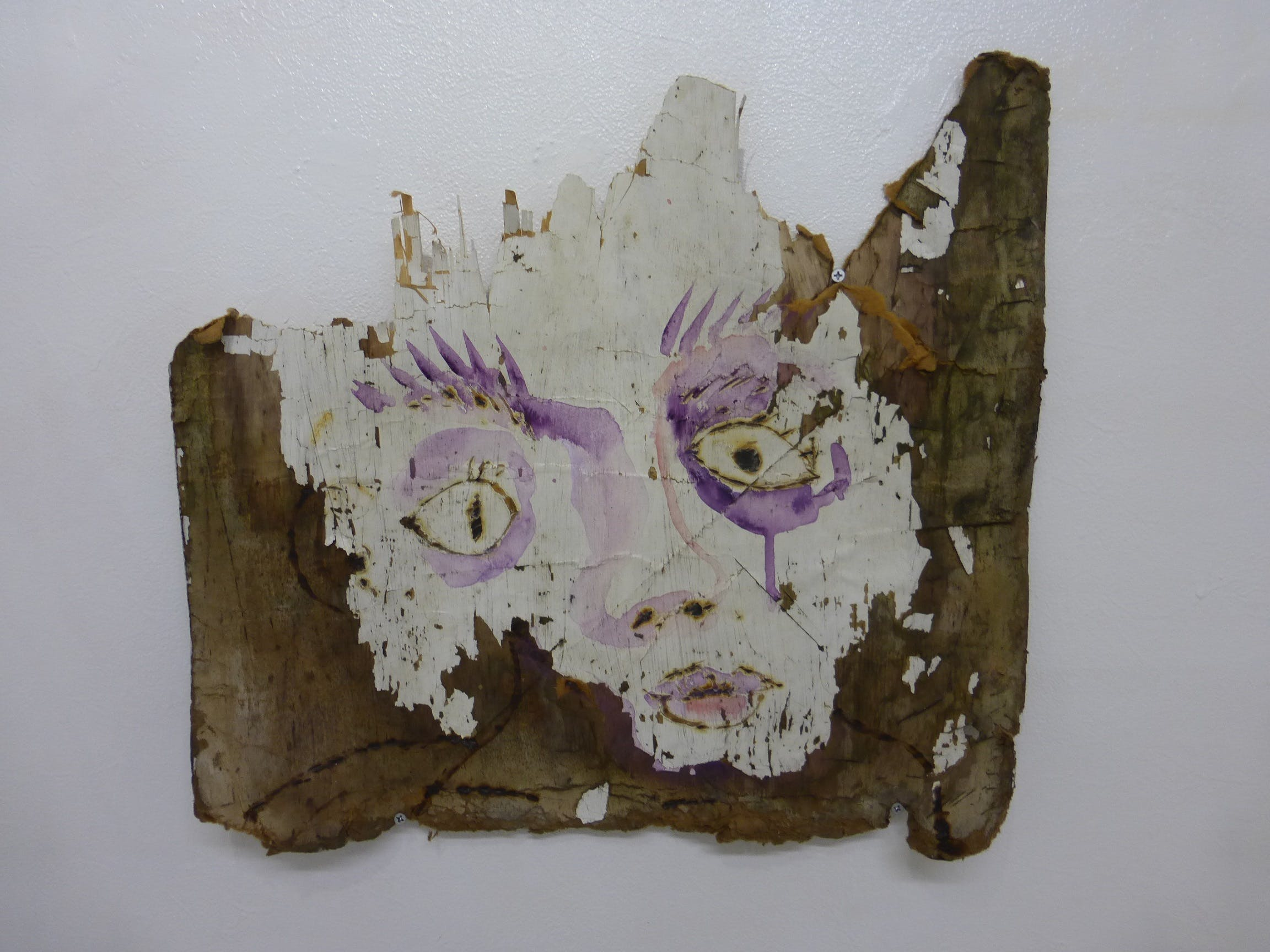 廃材の自画像 / self-portrait4 in waste materials