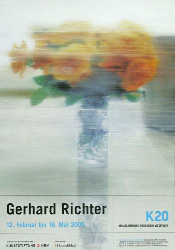Gerhard Richter: roses ポスター