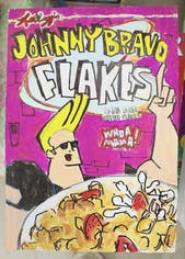 Cereal Comics(JOHNNY BRAVO FLAKES)