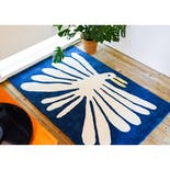 "Nathaniel Russell x Pacifica Collectives ""Big White Bird"" Living Rug"