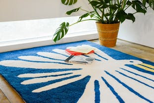 "Nathaniel Russell x Pacifica Collectives ""Big White Bird"" Living Rug (受注生産)"