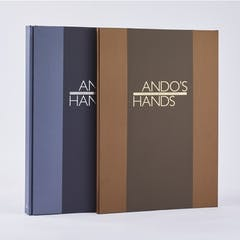 ANDO'S HANDS Tadao Ando Works 1976-2020/LIMITED EXCLUSIVE EDITION 安藤忠雄 大型作品集 豪華特装版