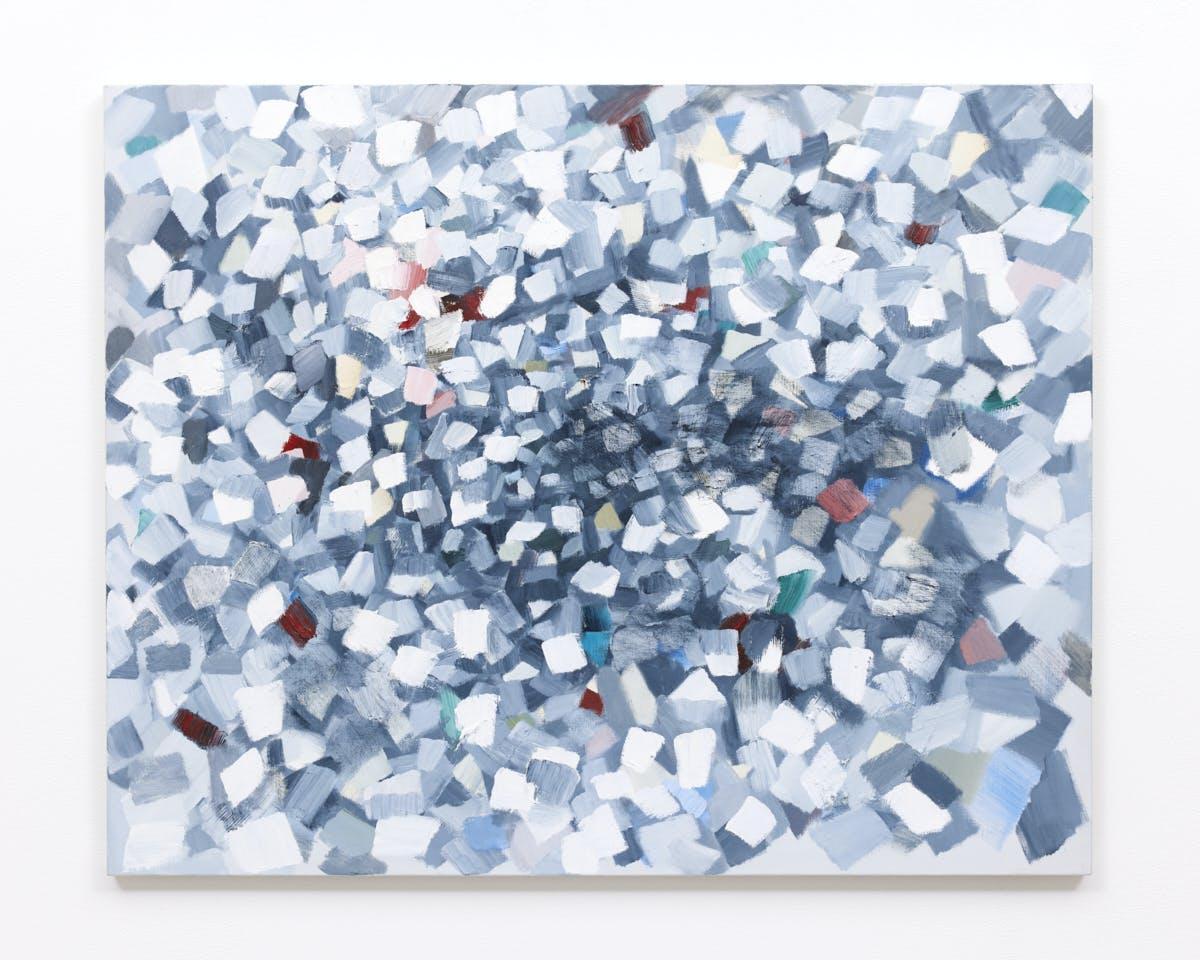 """""""光 The Light"""" 2018, Oil on canvas, 73 x 91 cm"""