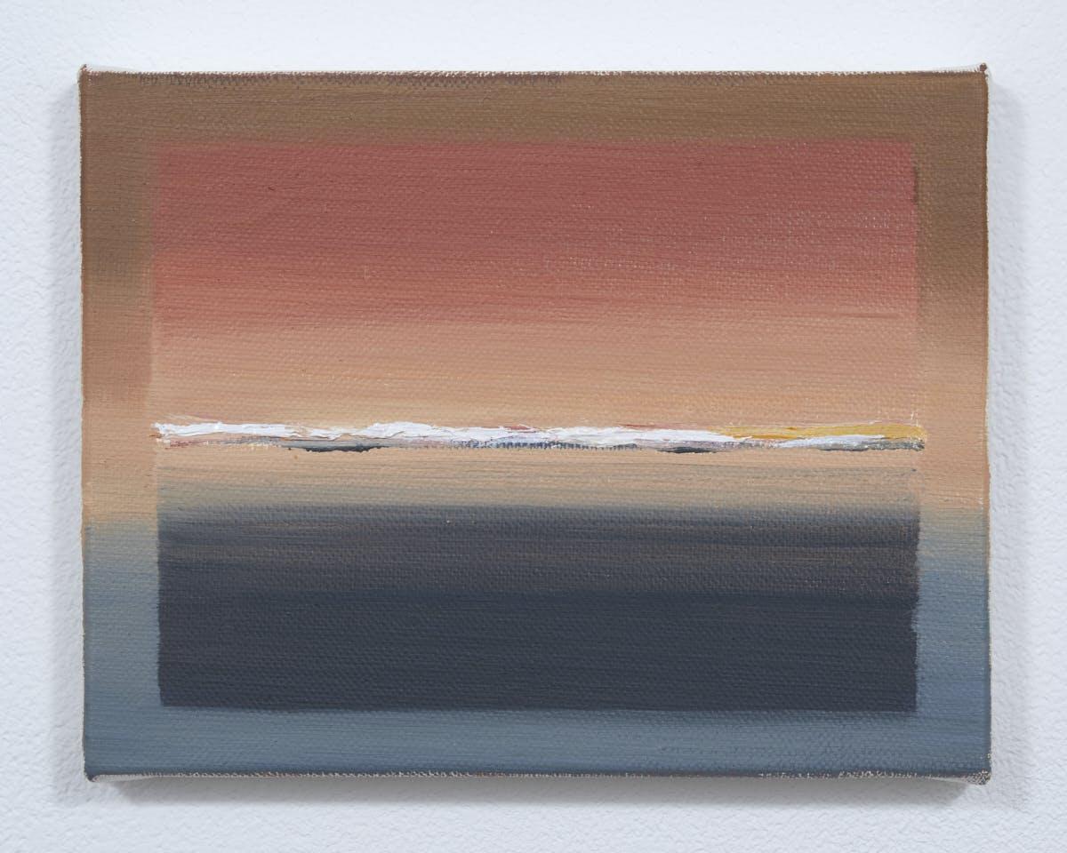 """""""線を見る Looking at the line """"(03), 2020"""