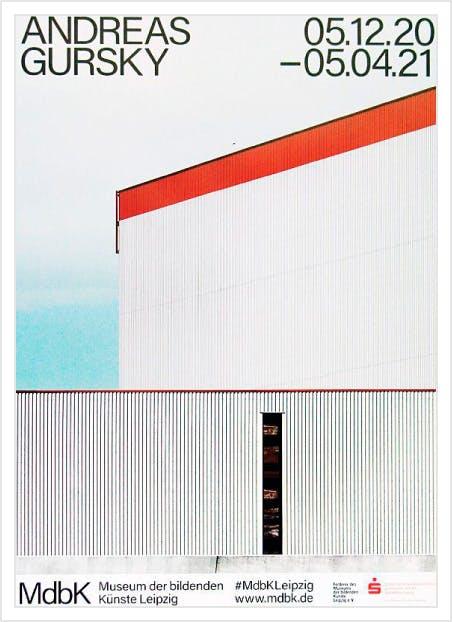 Andreas Gursky: Bauhaus ポスター
